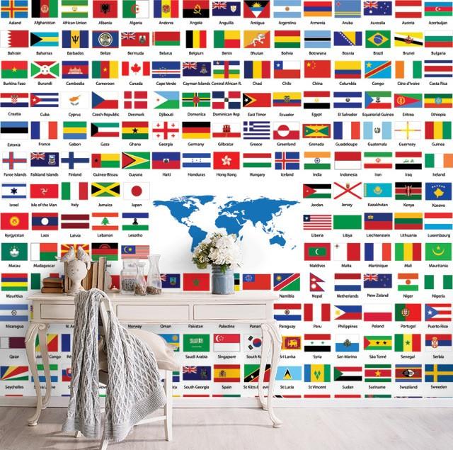 Bayraklarda Neden Mor Renk Yok?