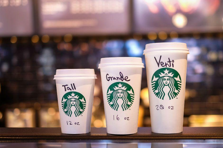 Starbucks'ın Bardak Adlarının Tall, Grande, Venti Olmasının İlginç Öyküsü
