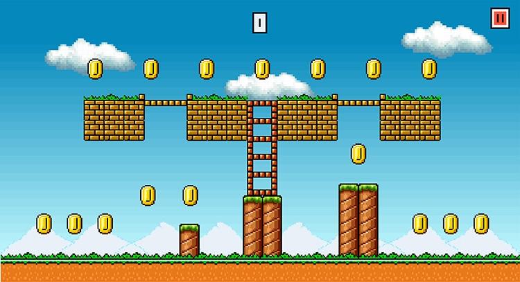8 bit game golds