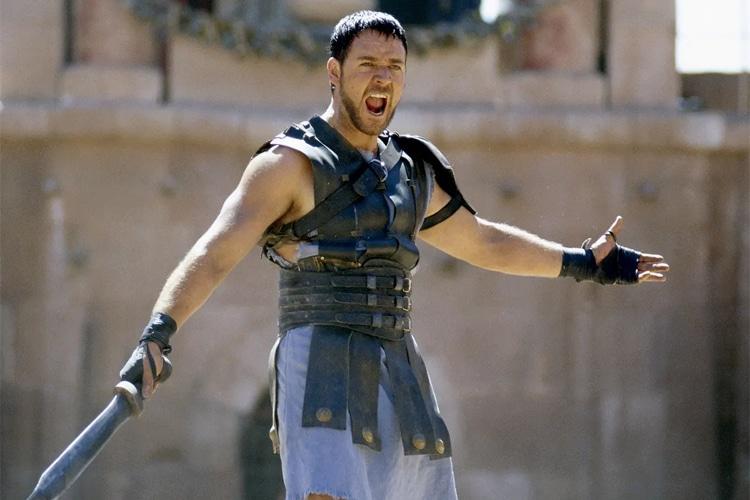 gladiator russell crowe filmleri