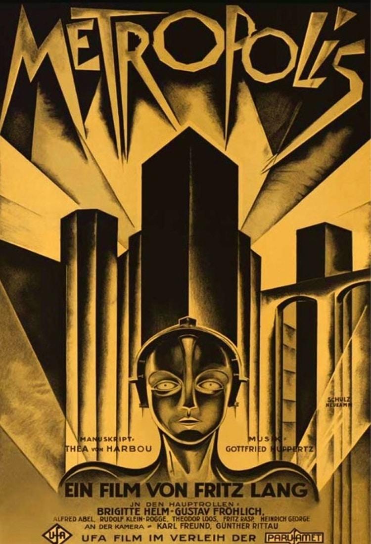 metropolis bilim kurgu filmleri