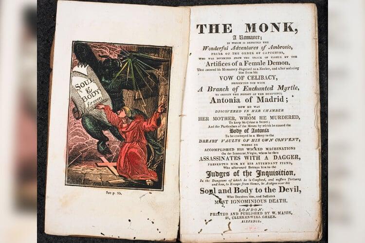 the monk gotik